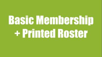 Basic Membership Plus Printed Roster